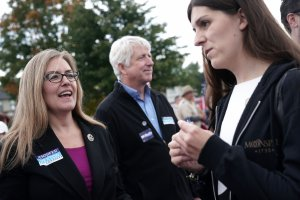 Candidates For Virginia House Of Representatives Campaign Ahead Of Midterm Elections