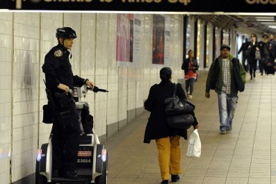 NYPD Subway Watch