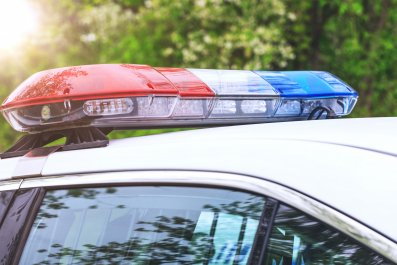 police car, cruiser, lights, authorities, stock, getty,