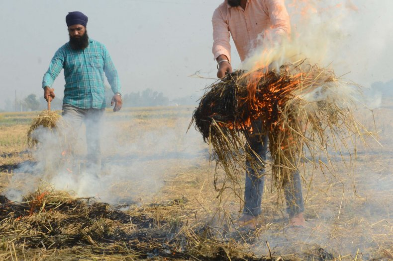 Stubble Burning India