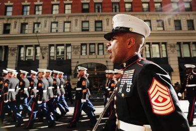 NYC Veterans Day Parade 2016