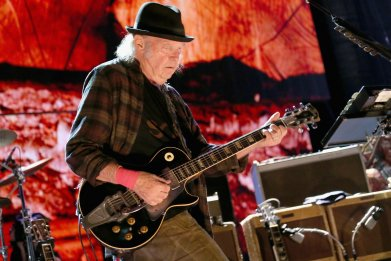 Canadian rocker Neil Young