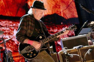 Canadian rocker Neil Young