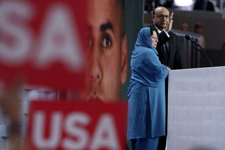 Gold Star Khan parents