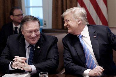 Pompeo and Trump