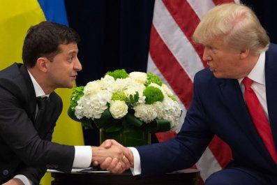 Zelensky and Trump