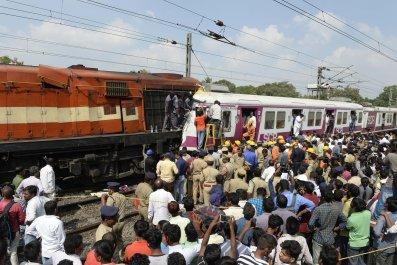 Kachiguda Railway Station crash