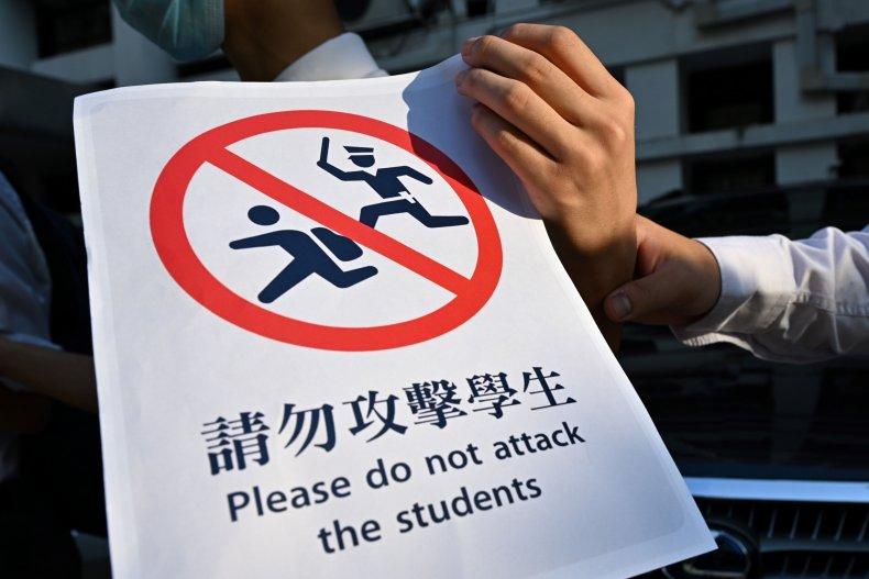 Hong kong, mental health, children, schools, police