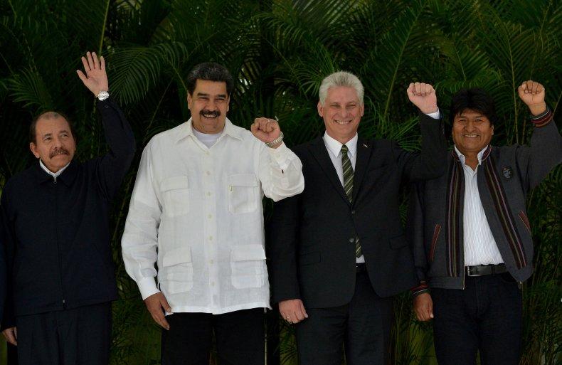 nicaragua, venezuela, cuba, bolivia, alba