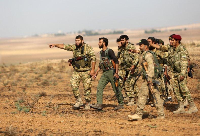 syria rebels turkey fight kurds