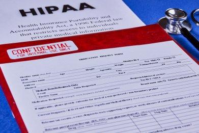 HIPAA, confidential data, medical,