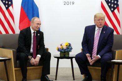 Donald Trump, Vladimir Putin, NATO, Russia, policy