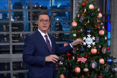 Stephen Colbert celebrates Trump's 'Impeachment Eve'