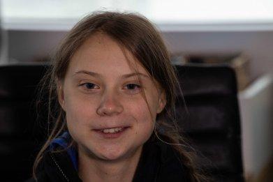 Swedish climate activist Greta Thunberg