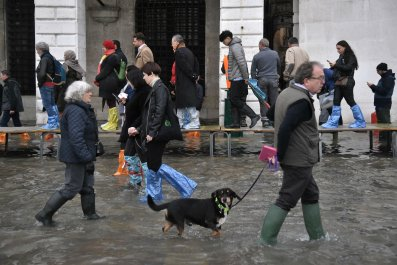 Venice Flooding citizens