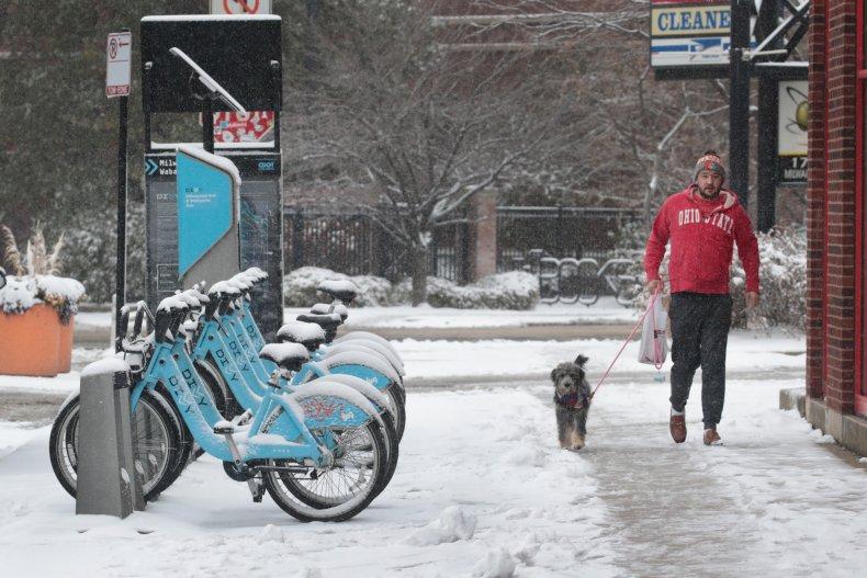 snow, Chicago