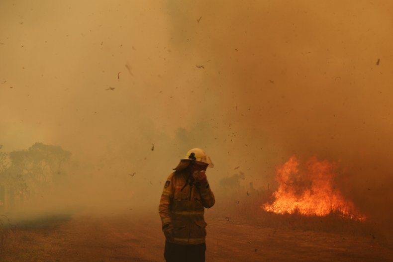 queensland new south wales australia wildfire