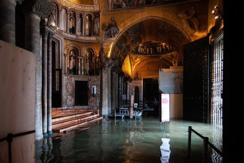 Flooded Basilica of St. Marks