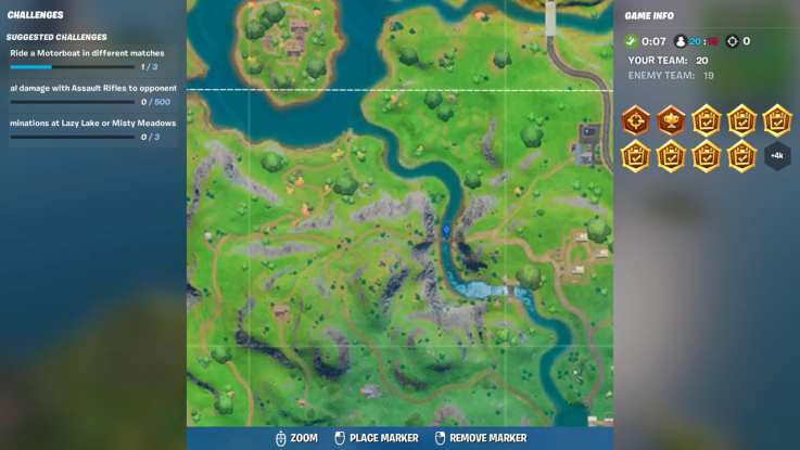 fortnite landmark location 9