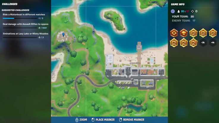 fortnite landmark location 8