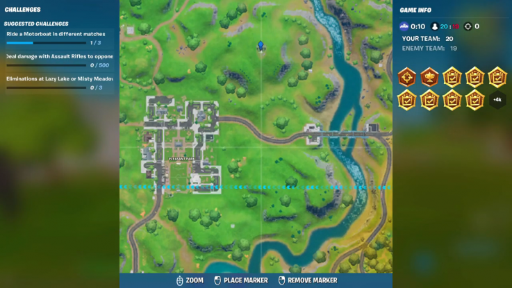 fortnite landmark location 5