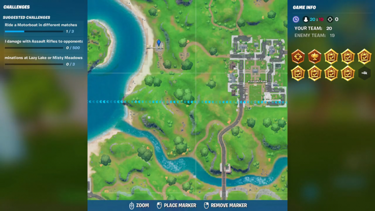fortnite landmark location 4