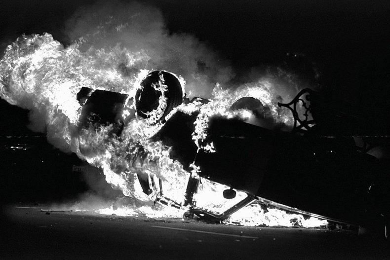 Fire, Car
