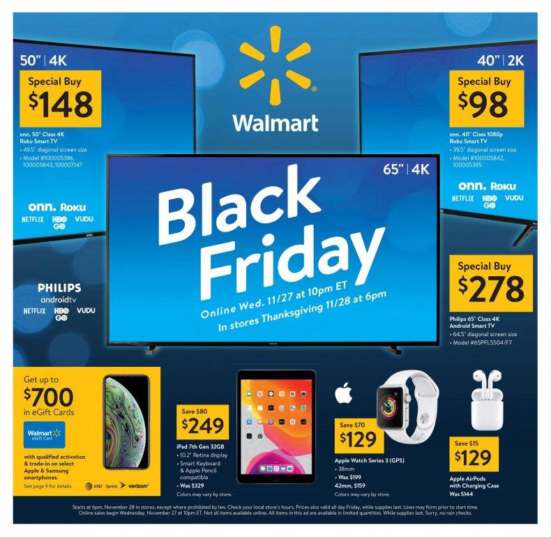 Black Friday Ad Walmart 2019