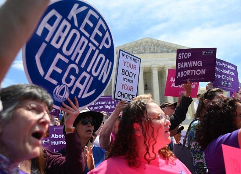 abortion rights activists supreme court D.C.