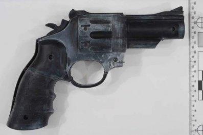Dale Ewins' toy gun