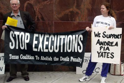 Texas Death Penalty Protest