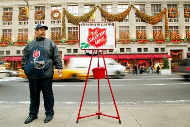 Salvation Army Ellie Goulding
