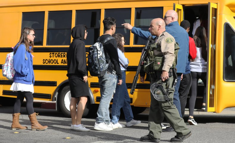 Santa Clarita, California, Joe Biden, school shooting