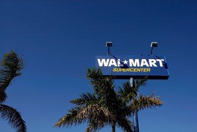 walmart supermarket sign