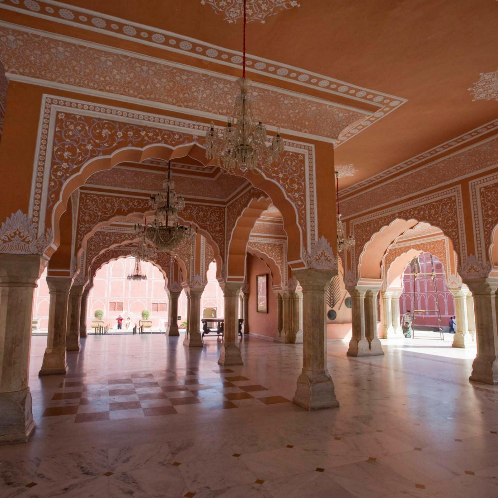City Palace Of Jaipur Home Of Maharaja Sawai Padmanabh Singh On