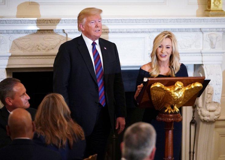 Paula White and Donald Trump