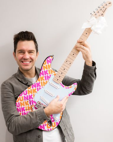 Dunkin Donuts Holiday Launch Andy Grammer