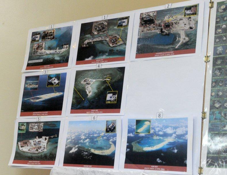China, South China Sea, man made, bases