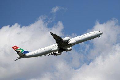 South African Airways Plane at JFK NYC