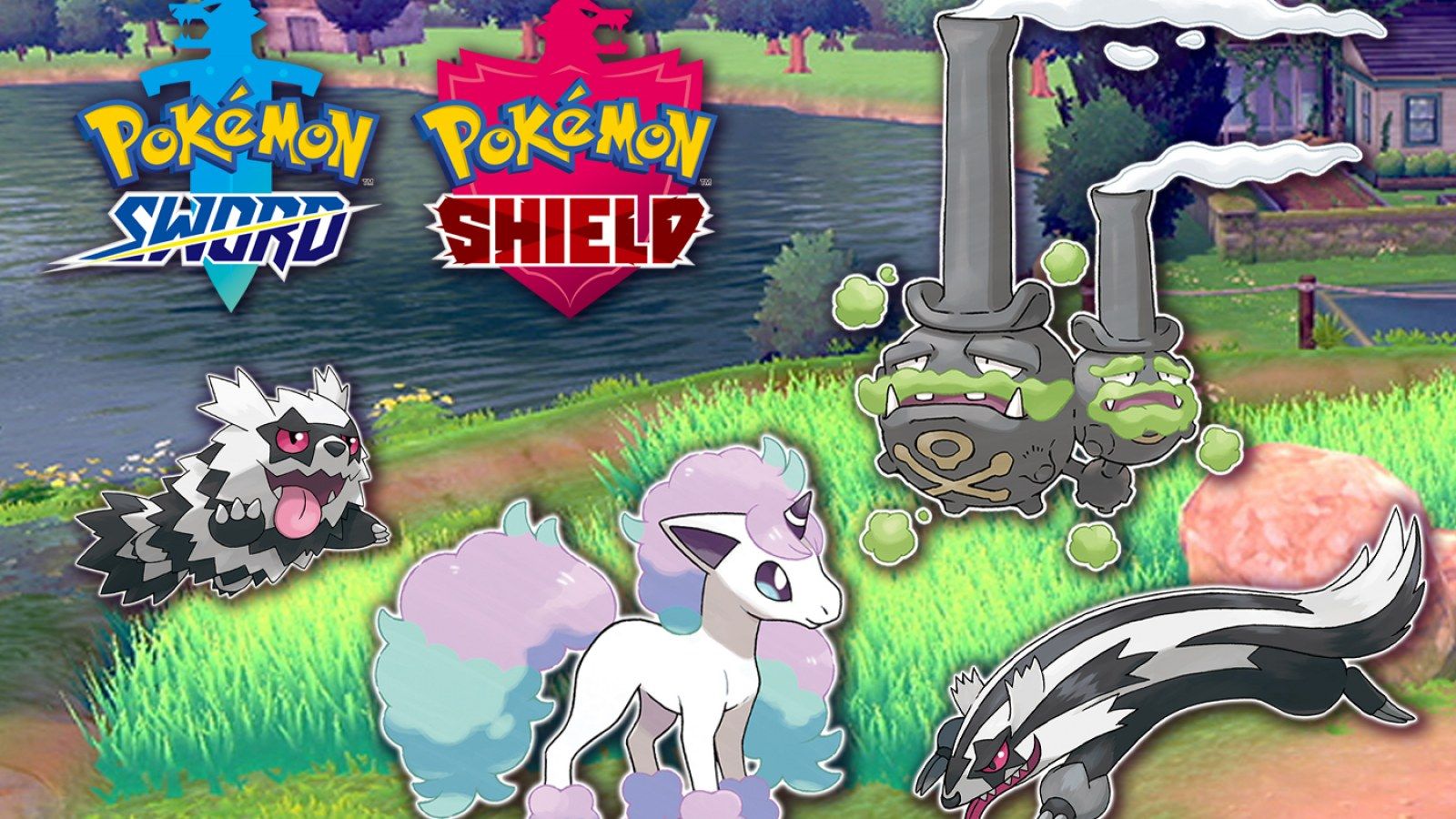 Pokemon Sword And Shield Galarian Forms How To Evolve Each New Pokemon