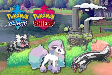 pokemon sword shield galarian forms guide