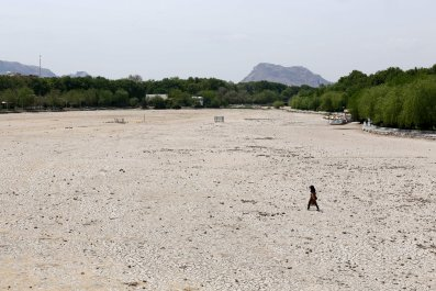 Zayandeh Rud River