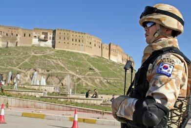 south korea military iraq war