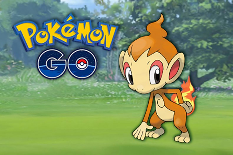 pokemon go chimchar community day