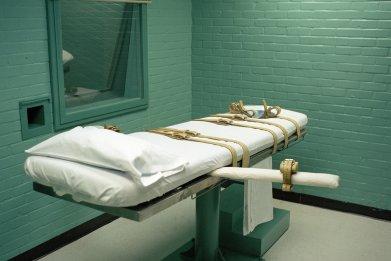 death row gurney