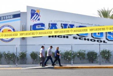 saugus high school, school shooting