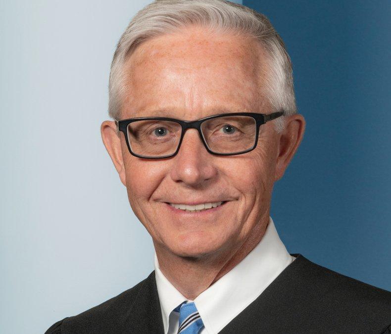Iowa Supreme Court Chief Justice Mark Cady