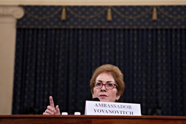Marie Yovanovitch Pelosi