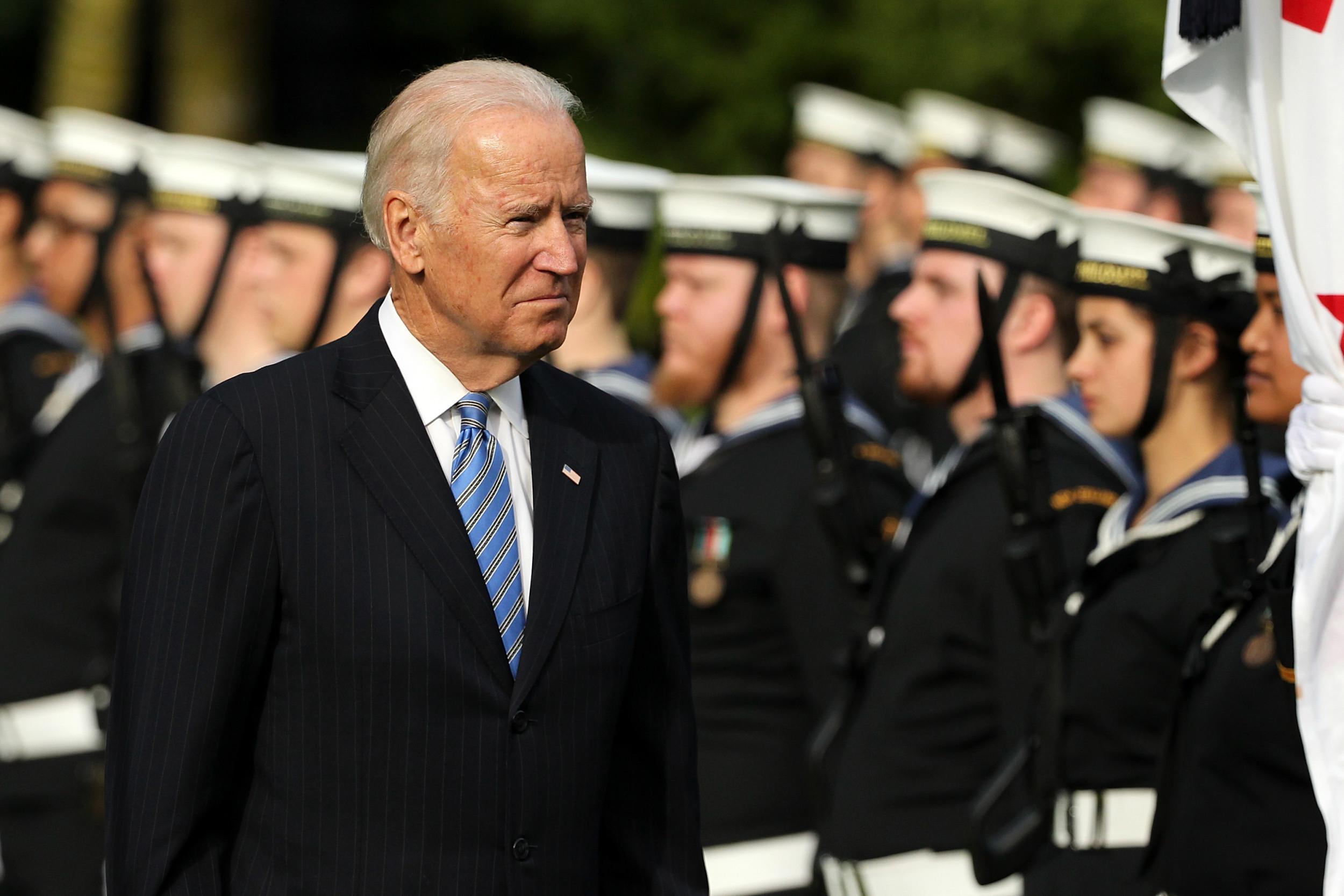 Joe Biden blasts Trump for pardoning U.S. service members linked to war crimes