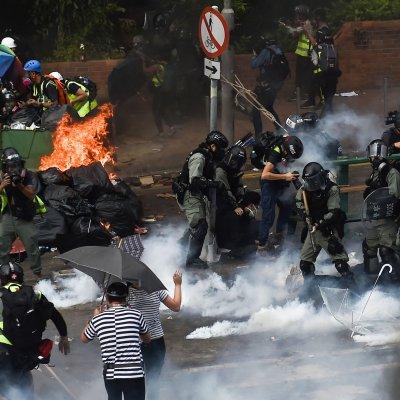 Hong Kong, polytechnic University, police, arrest, students